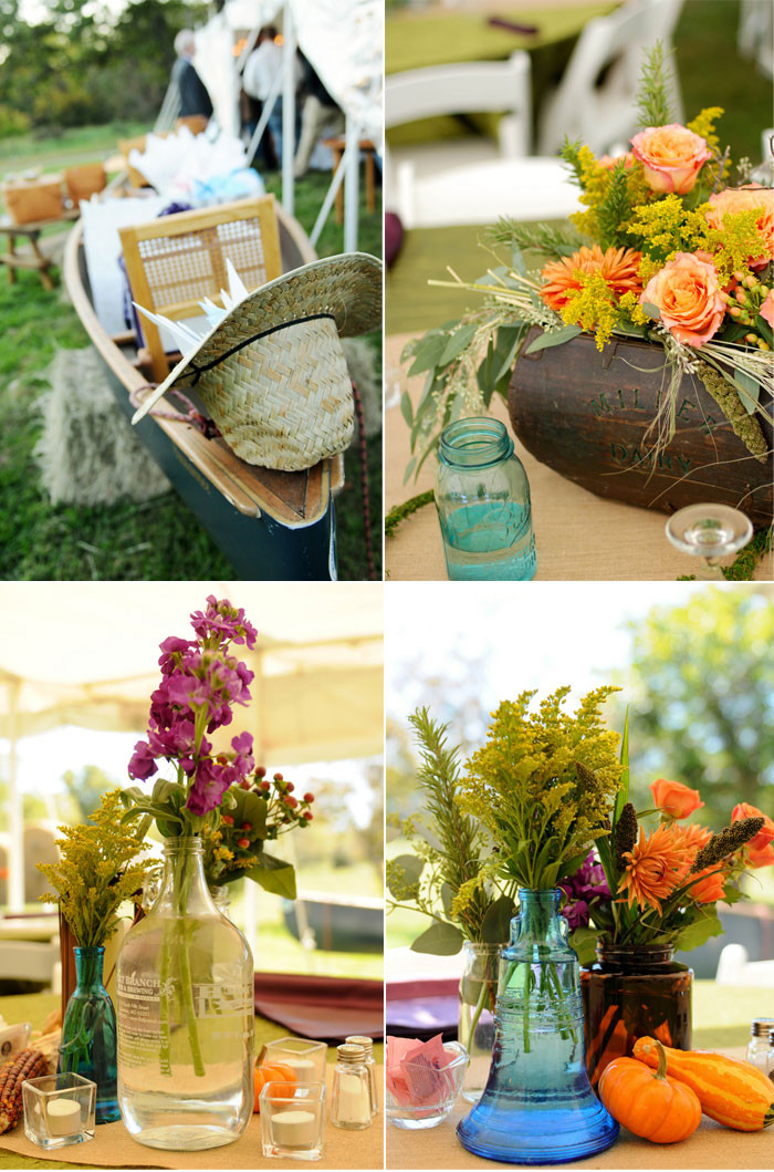 Best ideas about DIY Rustic Wedding Decorations . Save or Pin Rustic Fall Wedding with Creative DIY Ideas Now.