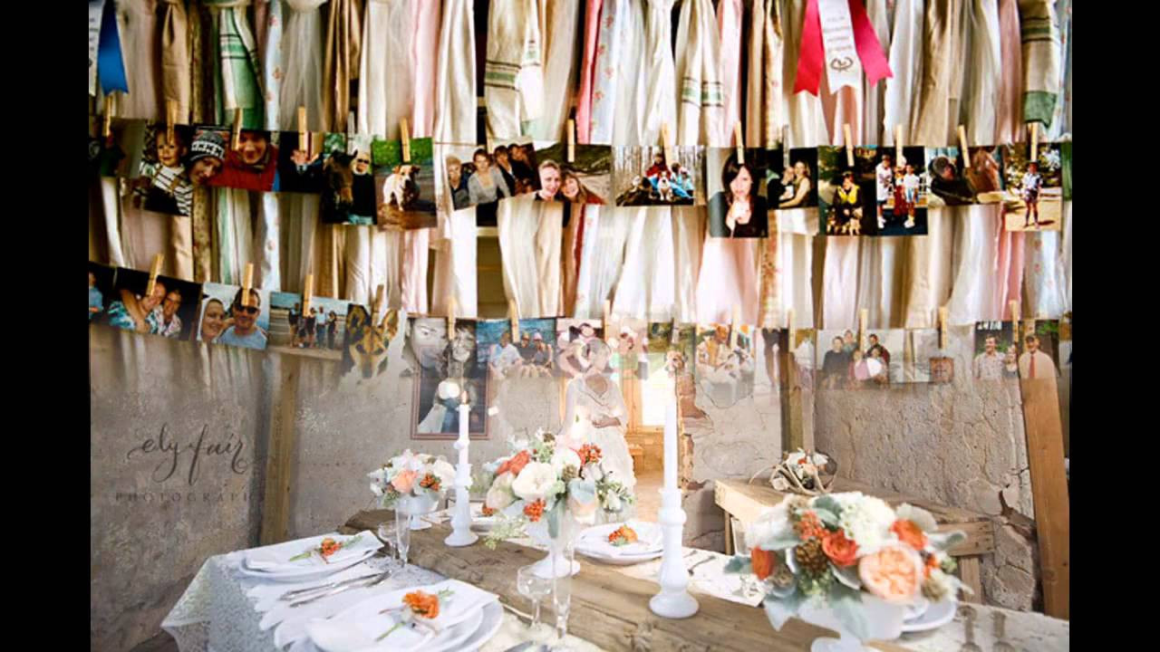 Best ideas about DIY Rustic Wedding Decorations . Save or Pin Good diy rustic wedding decorations ideas Now.