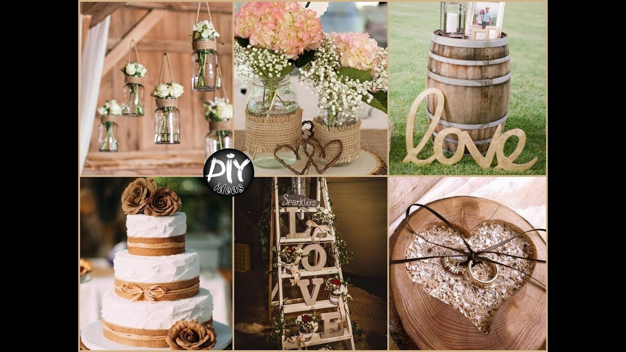 Best ideas about DIY Rustic Wedding Decorations . Save or Pin Witty Country Wedding Reception Decorations Review Now.