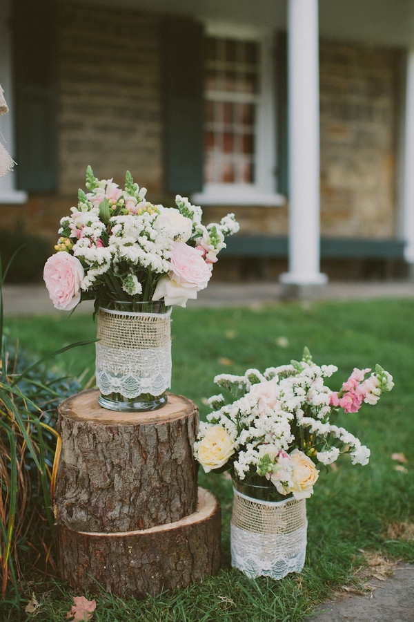 Best ideas about DIY Rustic Wedding Decorations . Save or Pin Breathtaking DIY Barn Wedding by Rachel Rowland graphy Now.