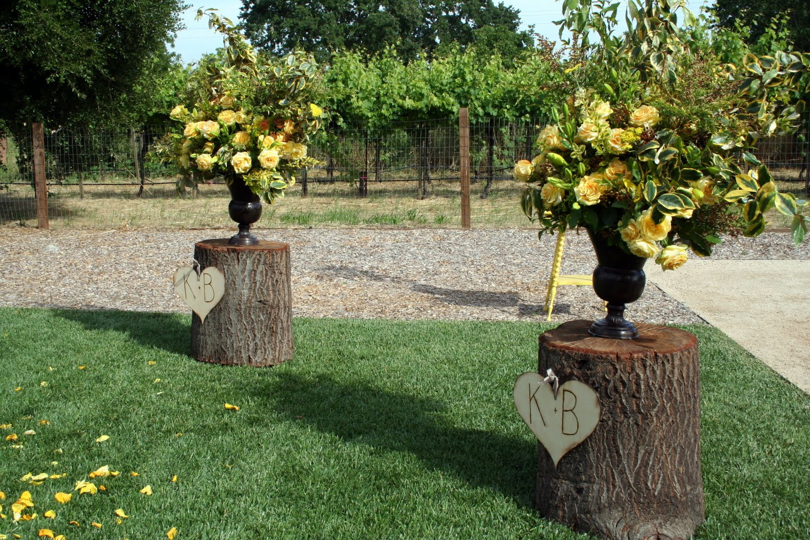 "Best ideas about DIY Rustic Wedding Decorations . Save or Pin Say ""I Do"" to These Fab 51 Rustic Wedding Decorations Now."
