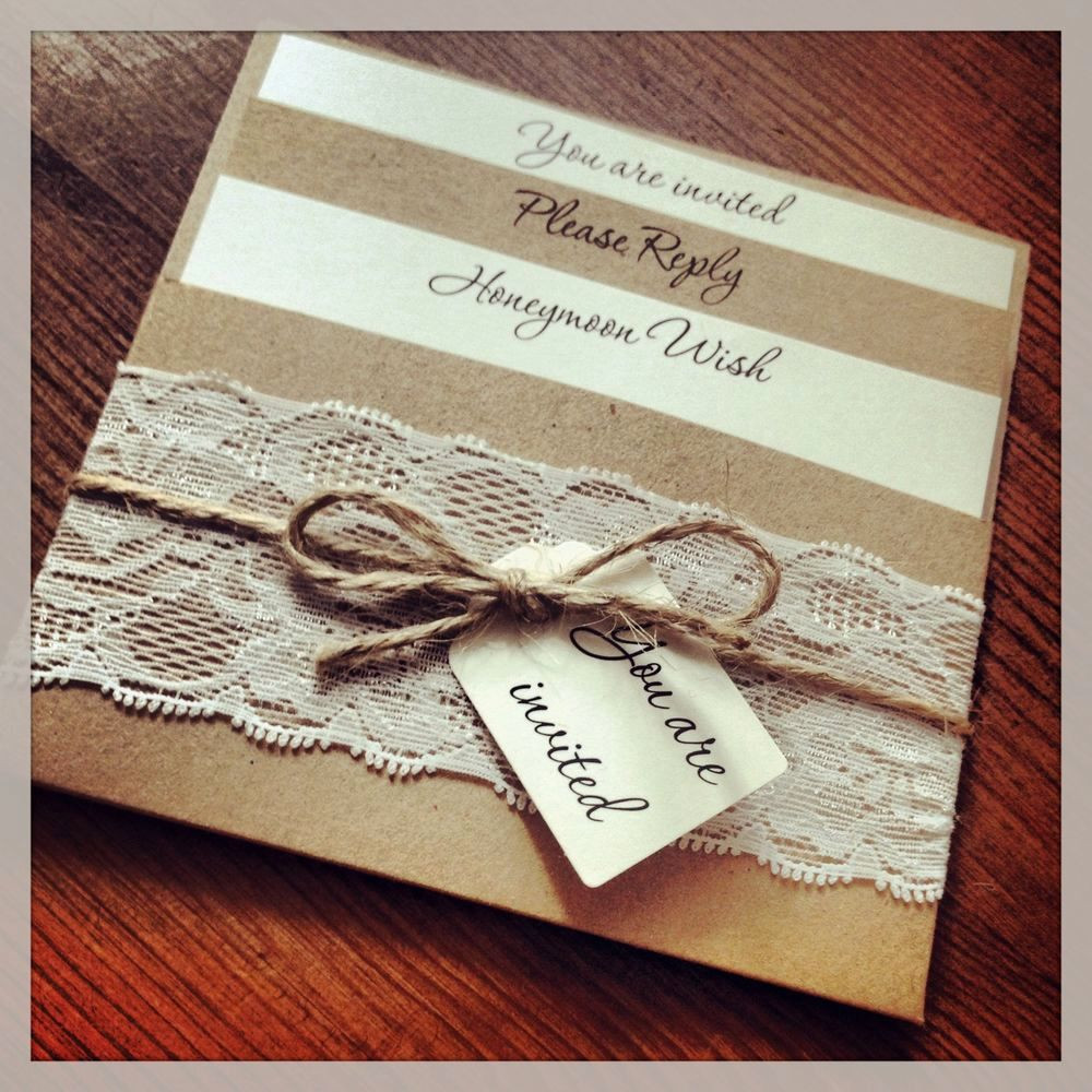 Best ideas about DIY Rustic Wedding Invitations . Save or Pin Rustic Diy Wedding Invitation Kits Now.