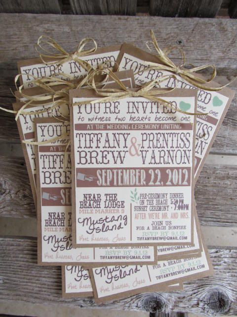 Best ideas about DIY Rustic Wedding Invitations . Save or Pin Barn Wedding Invitations on Pinterest Now.
