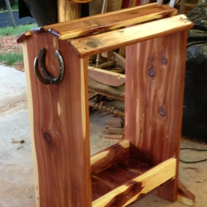 Best ideas about DIY Saddle Rack . Save or Pin Homemade Saddle Rack Now.