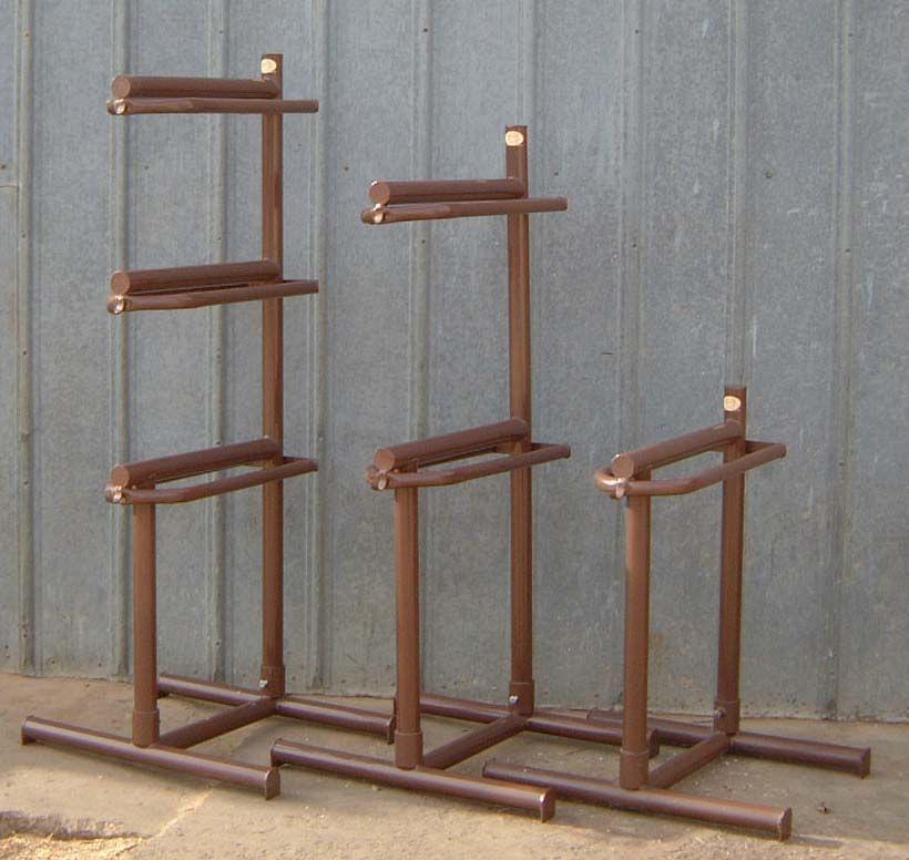 Best ideas about DIY Saddle Racks . Save or Pin diy saddle racks horse trailer Bing Now.