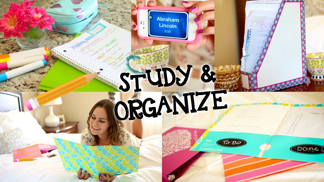 Best ideas about DIY School Organization . Save or Pin Study Tips & DIY Organization for Back to School Now.