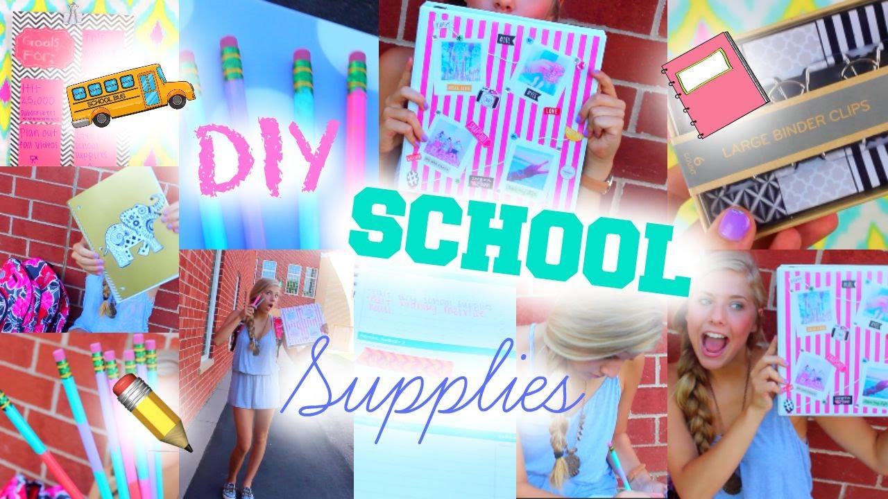 Best ideas about DIY School Organization . Save or Pin Back To School DIY School Supplies Organization Now.
