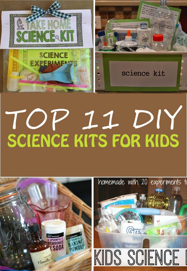 Best ideas about DIY Science Experiments For Kids . Save or Pin Top 11 DIY Science Kits for Kids Now.
