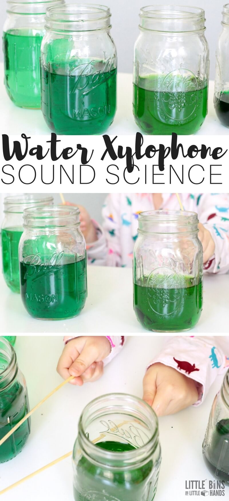 Best ideas about DIY Science Experiments For Kids . Save or Pin Water Xylophone Sound Science Experiment for Kids Physics Now.