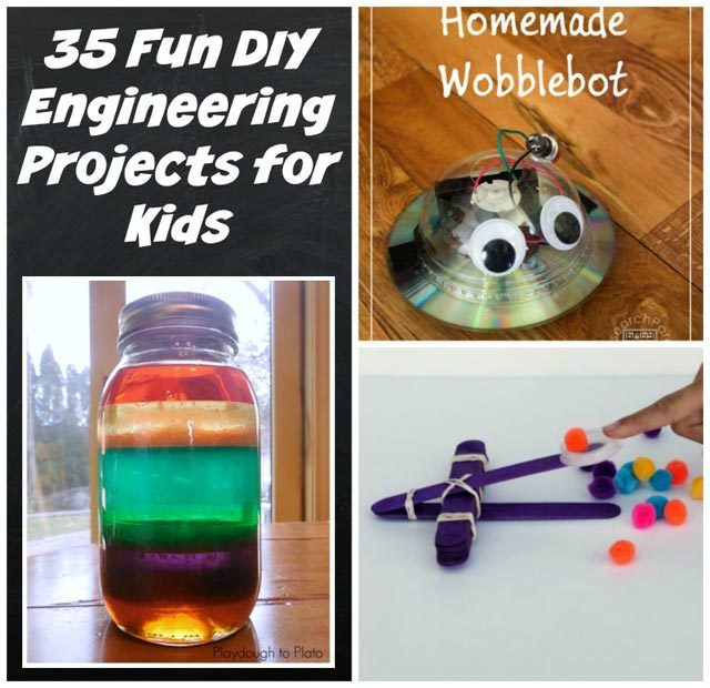 Best ideas about DIY Science Projects For Kids . Save or Pin 35 Fun DIY Engineering Projects for Kids Now.