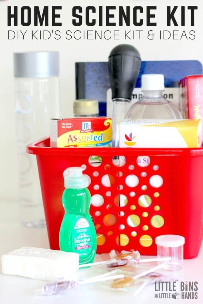 Best ideas about DIY Science Projects For Kids . Save or Pin Homemade Kids Science Kit for Simple Science Activities Now.