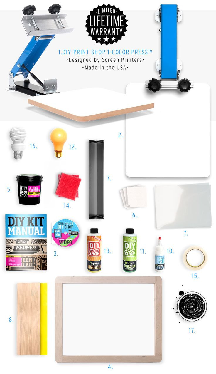 Best ideas about DIY Screen Printing Kit . Save or Pin 1000 ideas about Screen Printing on Pinterest Now.