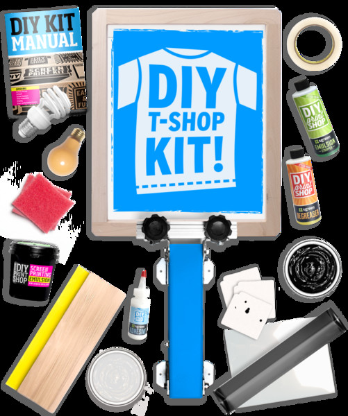 Best ideas about DIY Screen Printing Kit . Save or Pin DIY Screen Printing at Home Kits by DIY Print Shop Made Now.