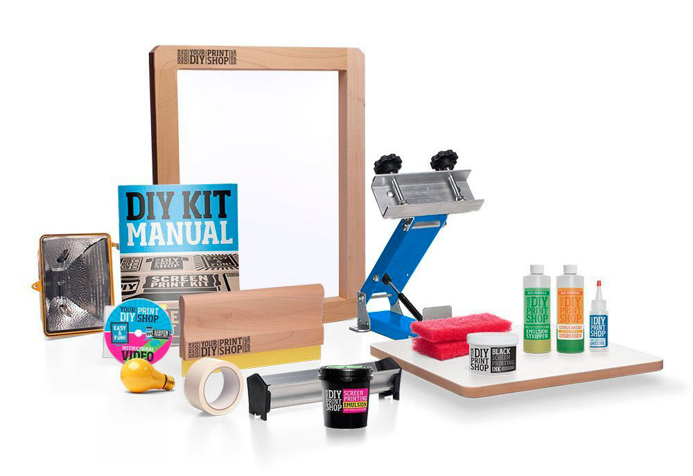 Best ideas about DIY Screen Printing Kit . Save or Pin DIY Print Shop Screen Printing Kit Giveaway Design Milk Now.