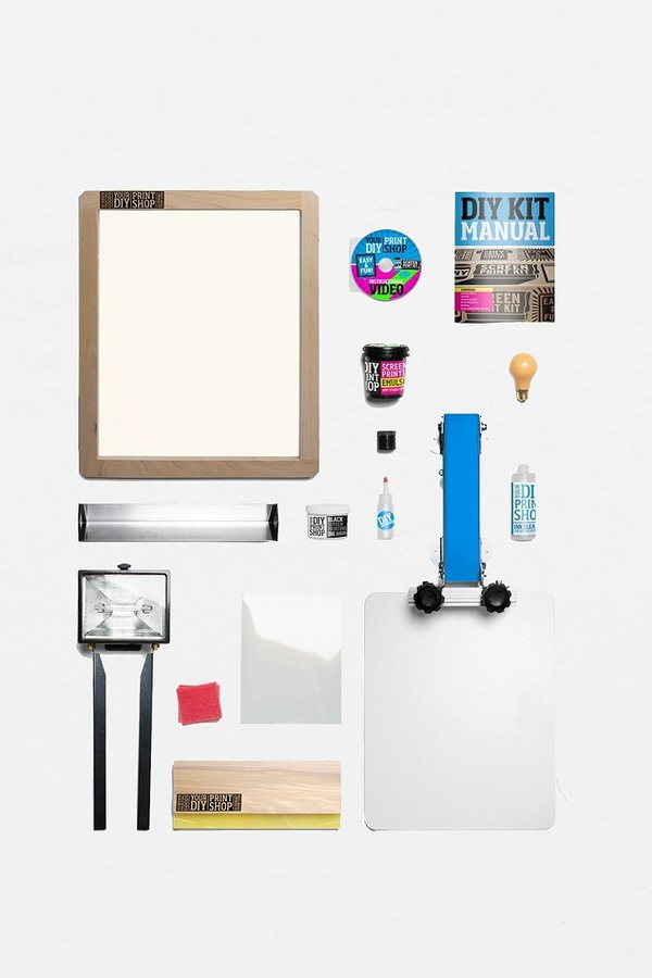 Best ideas about DIY Screen Printing Kit . Save or Pin Urban Outfitters DIY Print Shop T Shirt Screen Printing Now.