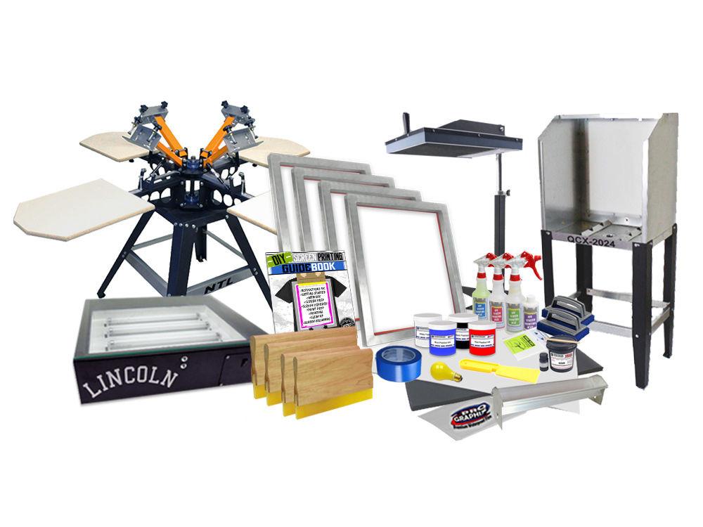 Best ideas about DIY Screen Printing Kit . Save or Pin DIY 4 Color Shocker© Semi Pro Screen Printing Kit Press Now.