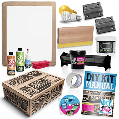 Best ideas about DIY Screen Printing Kit . Save or Pin DIY PRINT SHOP Classic Table Top Screen Printing Kit Now.