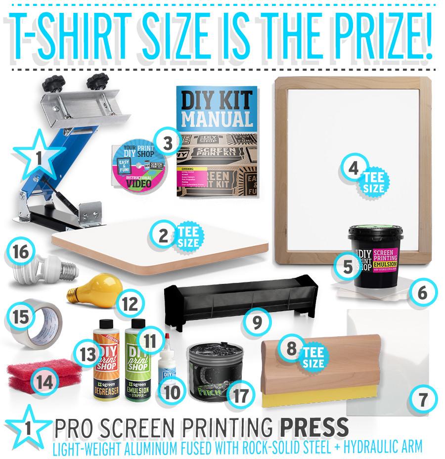 Best ideas about DIY Screen Printing Kit . Save or Pin Shop DIY Silk Screening Kit Best TShirt Screen Printing Kits Now.