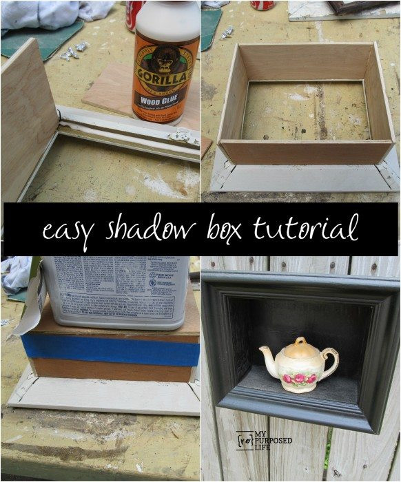 Best ideas about DIY Shadow Box Frame . Save or Pin diy shadow box frame My Repurposed Life Now.