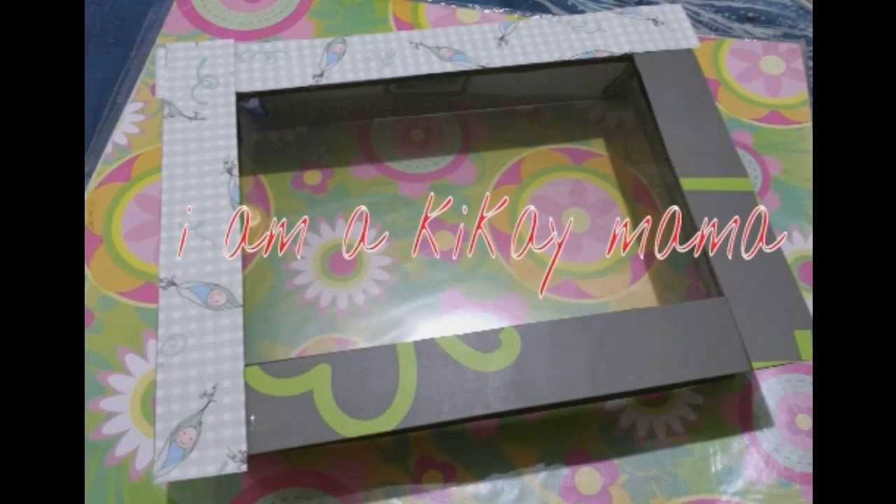 Best ideas about DIY Shadow Box Frame . Save or Pin DIY Shadow box frame Recycling bdj boxes Now.
