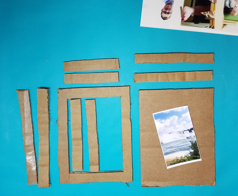 Best ideas about DIY Shadow Box Frame . Save or Pin DIY Shadow Box Frame from Cardboard – Moms and Crafters Now.