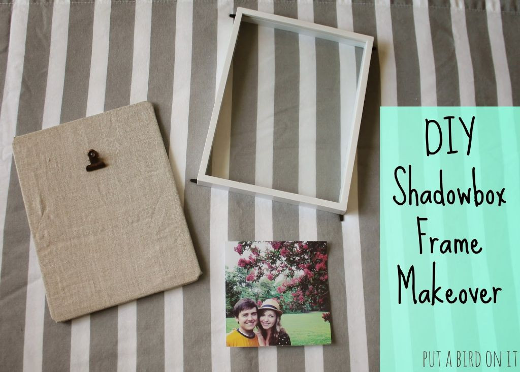 Best ideas about DIY Shadow Box Frame . Save or Pin DIY Shadow Box Frame Makeover Guest Post from Daniela Now.