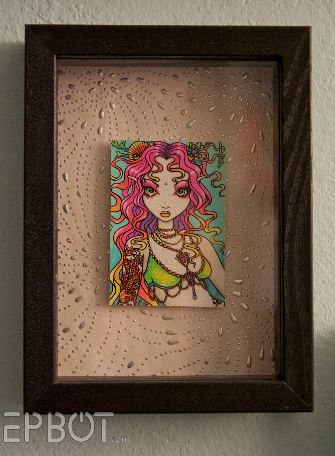 Best ideas about DIY Shadow Box Frame . Save or Pin EPBOT Turn Any Fat Frame Into a Shadowbox Frame Now.