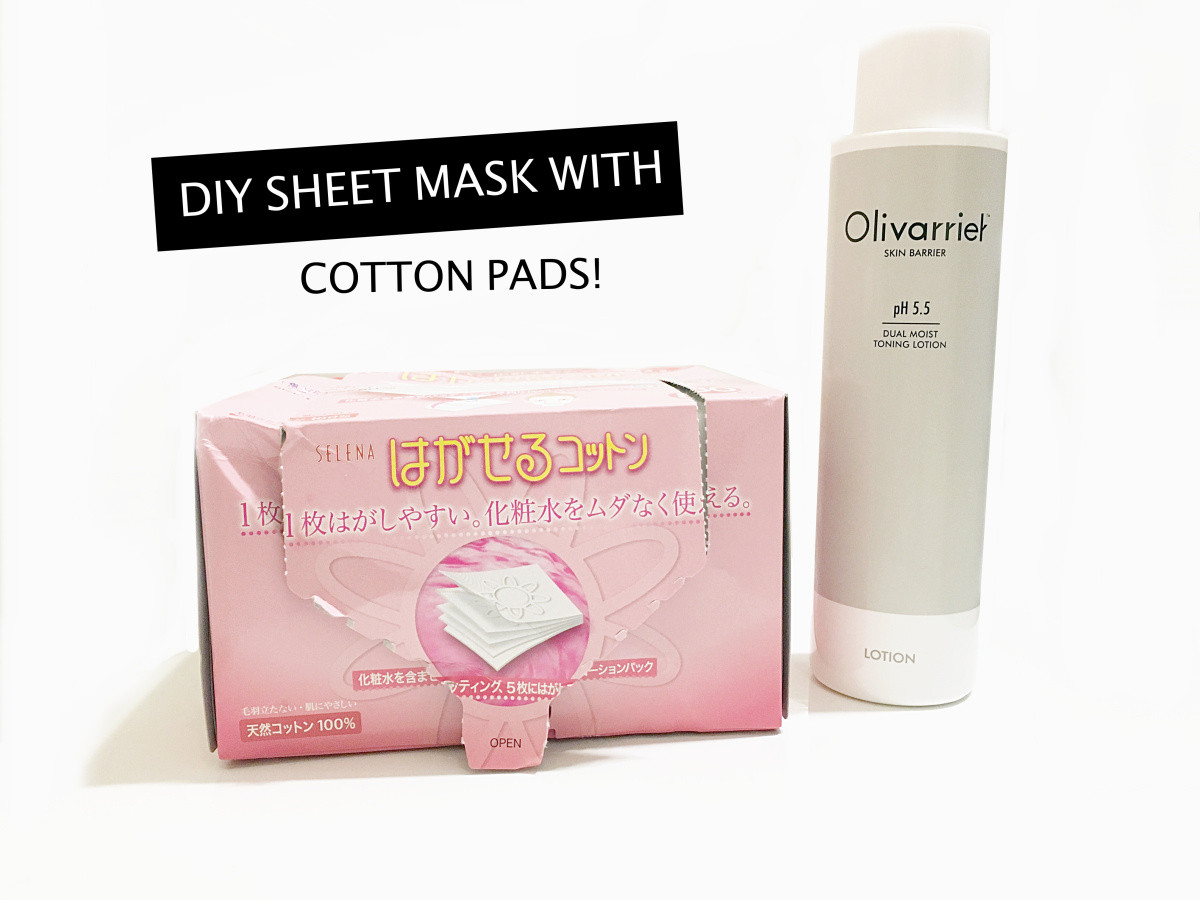 Best ideas about DIY Sheet Mask . Save or Pin DIY Sheet Mask With Cotton Pads Now.