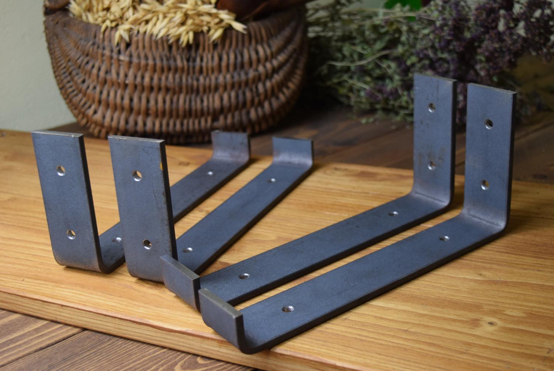 Best ideas about DIY Shelf Bracket . Save or Pin DIY Shelf Bracket Hangers Lip Metal Shelve Mounting Angle Now.