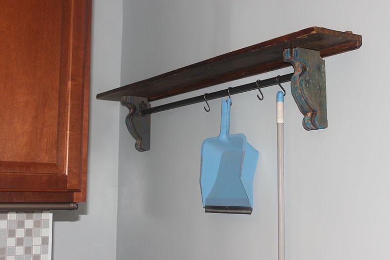 Best ideas about DIY Shelf Bracket . Save or Pin Easy DIY Shelf Brackets & Wood Shelf crafted from Now.