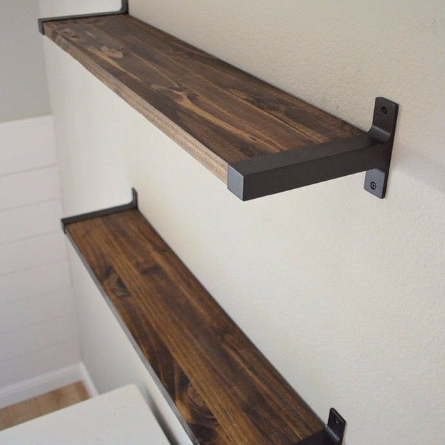 Best ideas about DIY Shelf Bracket . Save or Pin IKEA Shelf Bracket DIY Now.