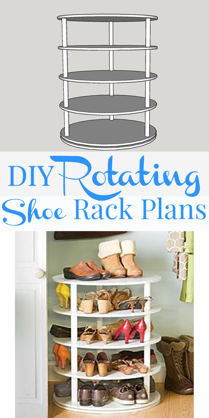 Best ideas about DIY Shoe Rack . Save or Pin Remodelaholic Now.