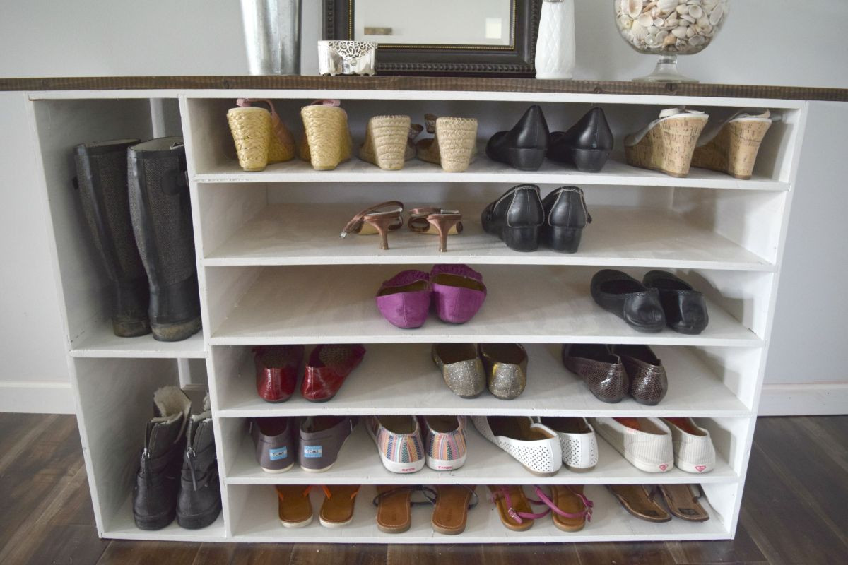 Best ideas about DIY Shoe Rack . Save or Pin Stylish DIY Shoe Rack Perfect for Any Room Now.