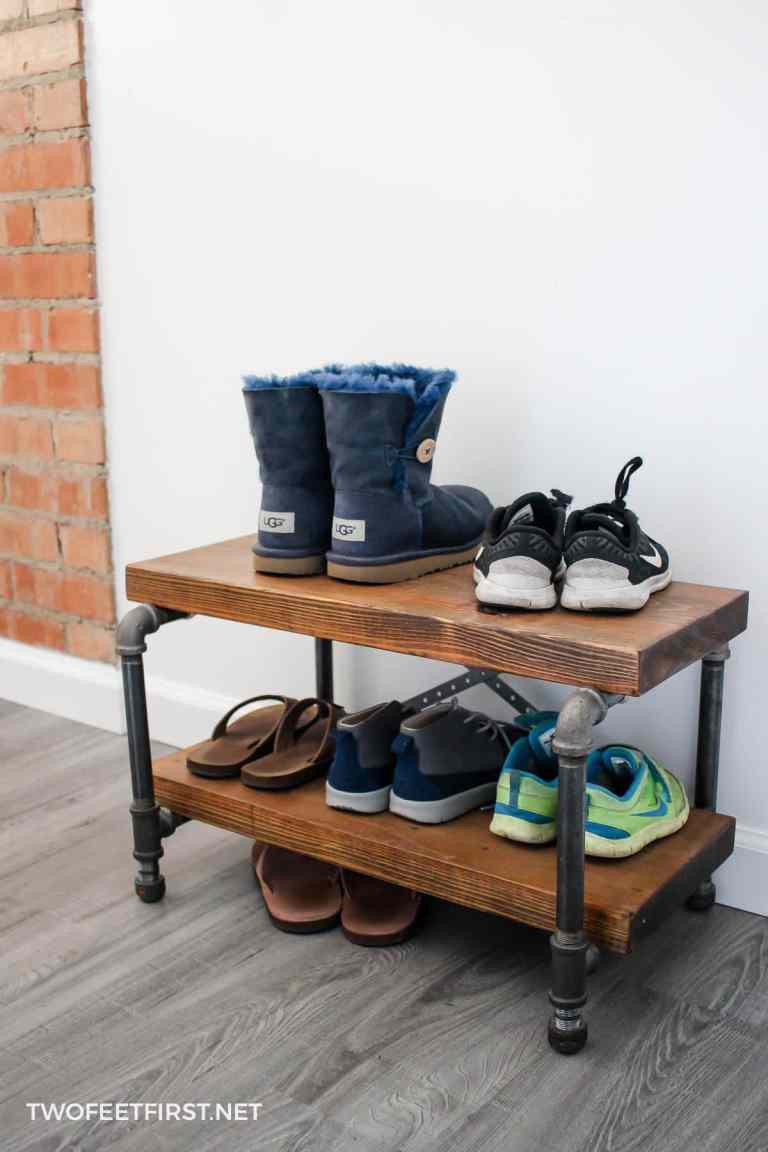 Best ideas about DIY Shoe Rack . Save or Pin 22 Chaos Eliminating DIY Shoe Rack Ideas Now.