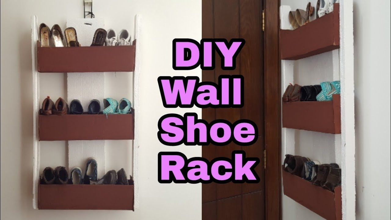 Best ideas about DIY Shoe Rack Cardboard . Save or Pin DIY How to Cardboard Shoe Rack Cardboard Shoe Now.
