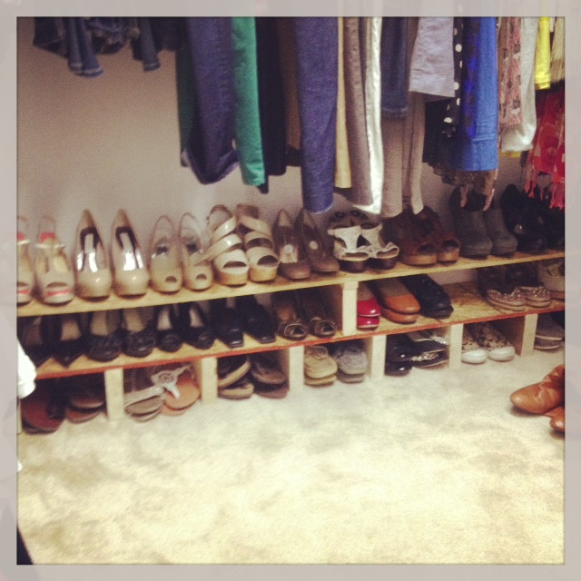Best ideas about DIY Shoe Rack For Closet . Save or Pin Tucker Up DIY Shoe Rack Now.