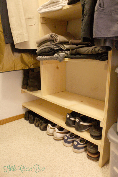 Best ideas about DIY Shoe Rack For Closet . Save or Pin How to Make DIY Closet Organizers and Clean Out Your Walk Now.