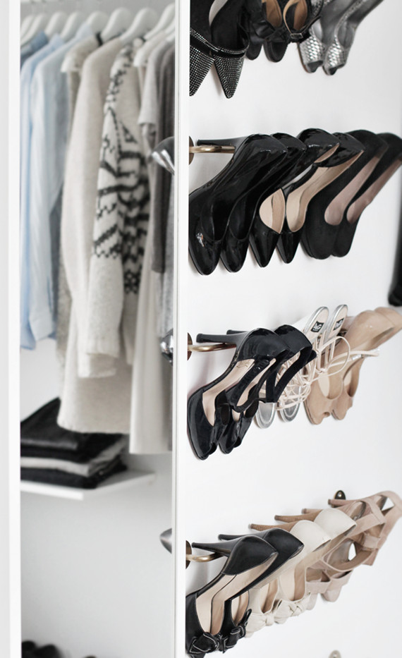 Best ideas about DIY Shoe Rack For Closet . Save or Pin Ikea Archives Simplified Bee Now.