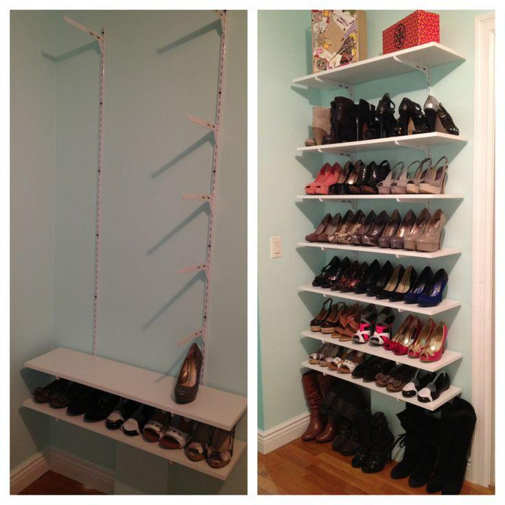Best ideas about DIY Shoe Rack For Closet . Save or Pin Best 25 Diy shoe rack ideas on Pinterest Now.