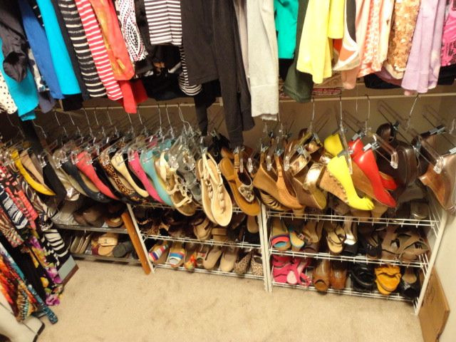 Best ideas about DIY Shoe Rack For Closet . Save or Pin Closet Shoe Storage Diy WoodWorking Projects & Plans Now.