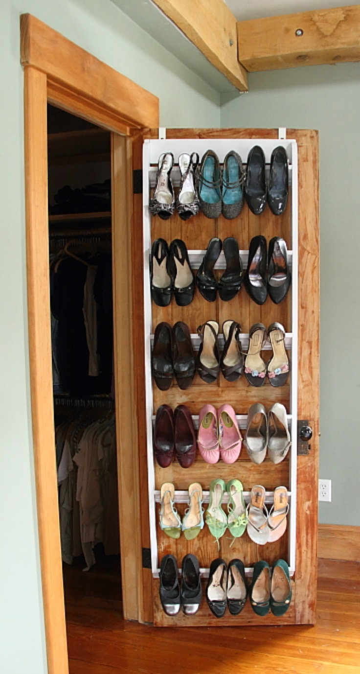 Best ideas about DIY Shoe Rack For Closet . Save or Pin 7 DIY Shoe Storage Now.