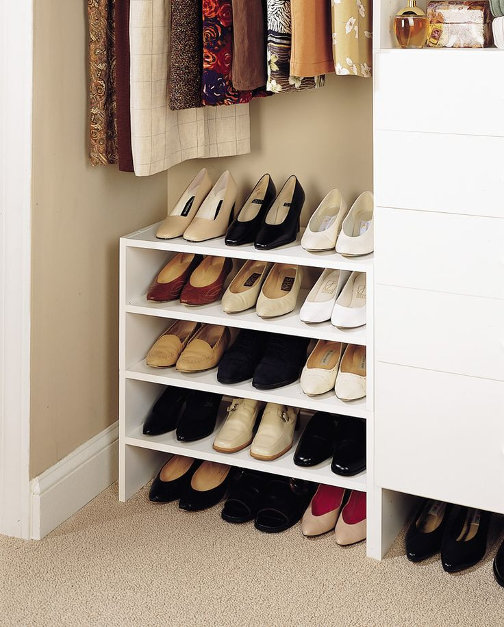Best ideas about DIY Shoe Rack For Closet . Save or Pin shoe storage ideas For the Home Now.