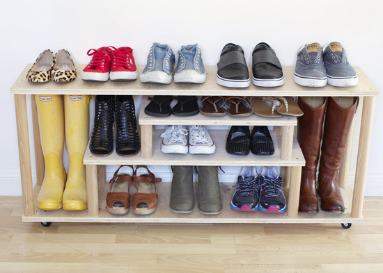 Best ideas about DIY Shoe Rack . Save or Pin DIY Plywood Shoe Rack Now.