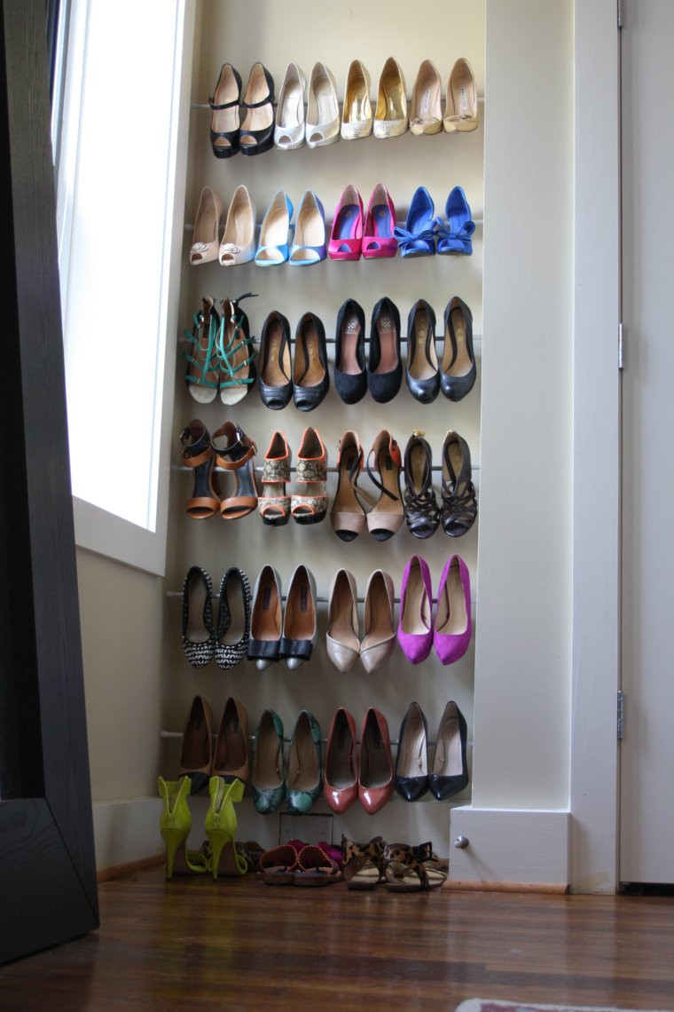 Best ideas about DIY Shoe Rack . Save or Pin 15 Clever DIY Shoe Storage Ideas Grillo Designs Now.