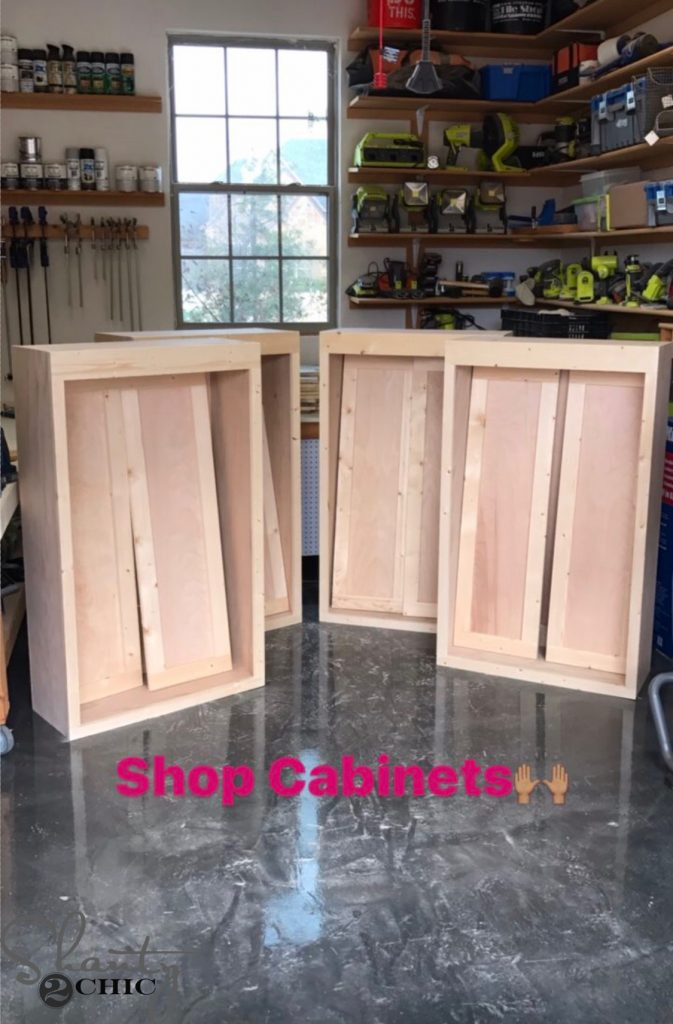 Best ideas about DIY Shop Cabinets . Save or Pin DIY Cabinets For A Garage Workshop or Craft Room Now.