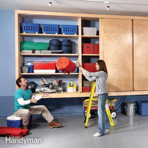 Best ideas about DIY Shop Cabinets . Save or Pin Giant DIY Garage Cabinet Now.