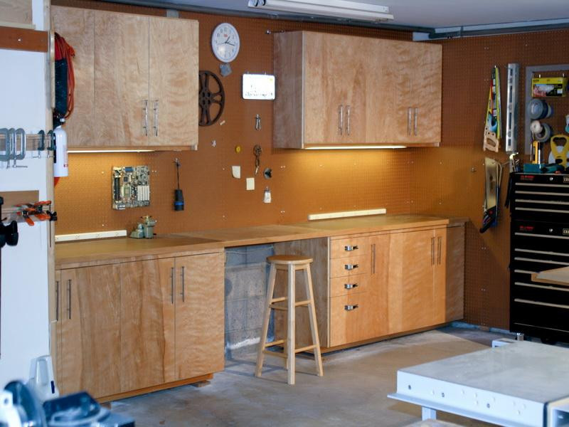 Best ideas about DIY Shop Cabinets . Save or Pin How To Build Garage Cabinets DIY Iimajackrussell Garages Now.