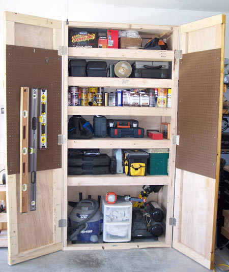 Best ideas about DIY Shop Cabinets . Save or Pin 20 DIY Garage Shelving Ideas Now.