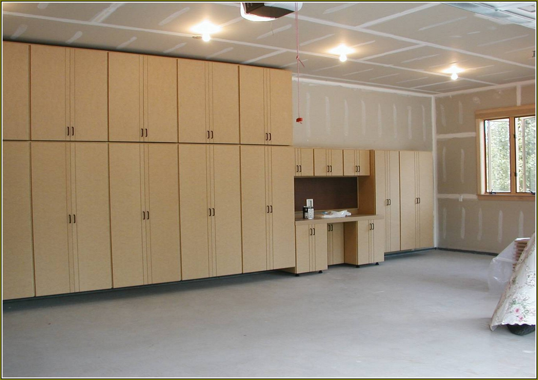 Best ideas about DIY Shop Cabinets . Save or Pin Diy Garage Cabinets To Make Your Garage Look Cooler Elly Now.