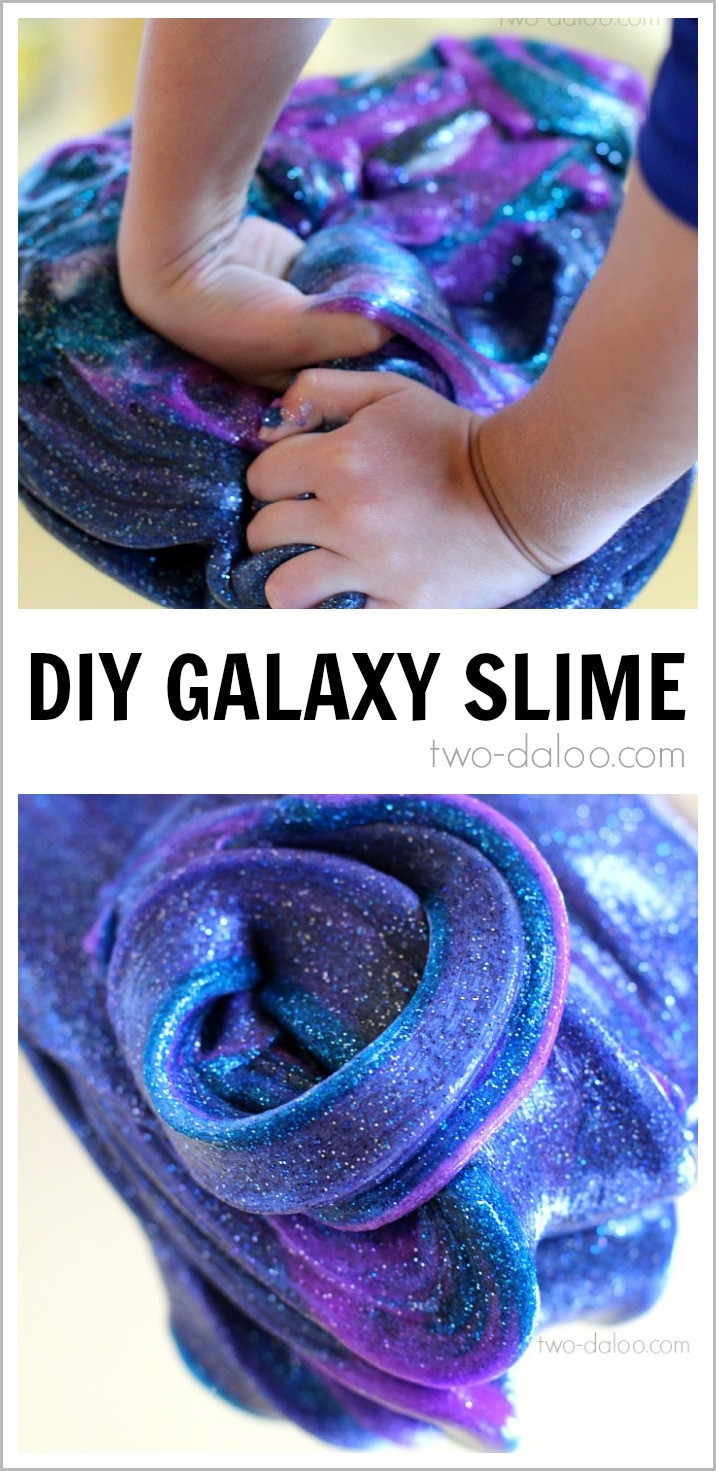 "Best ideas about DIY Slime For Kids . Save or Pin DIY Galaxy Slime Man Vs Pin 40 ""This just Now."